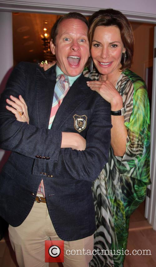Carson Kressley and Countess Luann De Lesseps