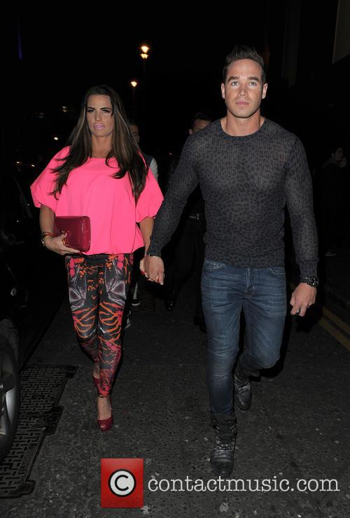 Katie Price and husband Kieran Hayler enjoy a...