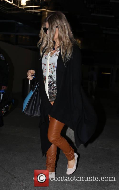 Fergie, Stacy Ann Ferguson, LAX airport