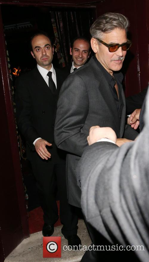 George Clooney Leaves Loulou