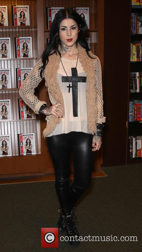 Kat Von D, Barnes and Noble
