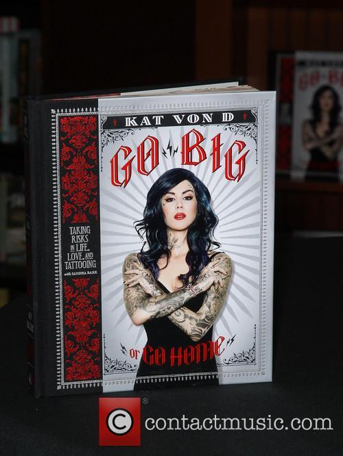 Kat Von D, Go Big, Go Home, Barnes, Noble, Barnes and Noble