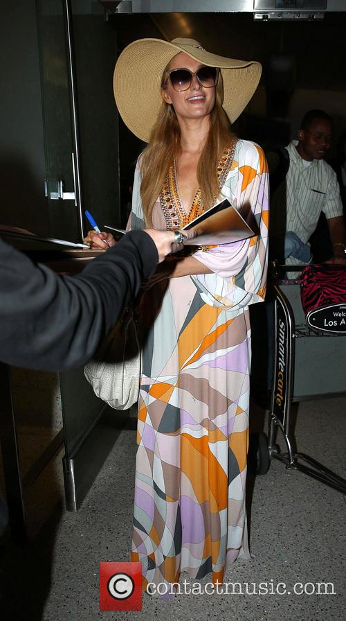 Paris Hilton, LAX airport