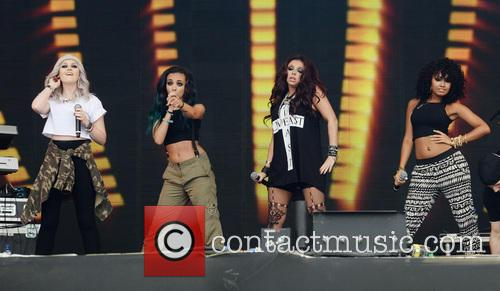 Jade Thirlwall, Leigh-anne Pinnock, Perrie Edwards, Jesy Nelson and Little Mix 4