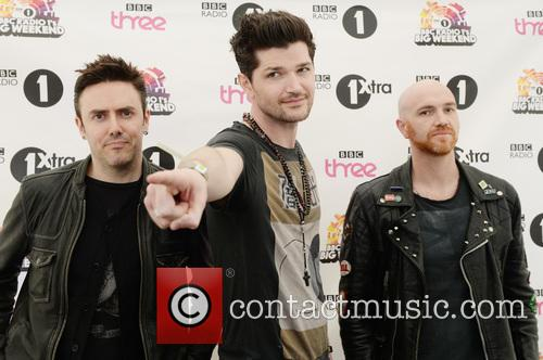 Danny O'donoghue, Mark Sheehan, Glen Power and The Script 2