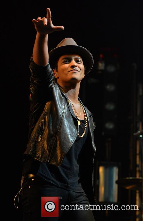 Bruno Mars at BBC Radio 1's Big Weekend