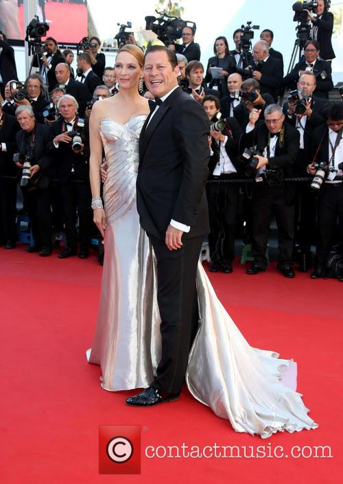 Uma Thurman and Arpad Busson 4