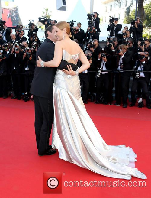 Uma Thurman and Arpad Busson 6