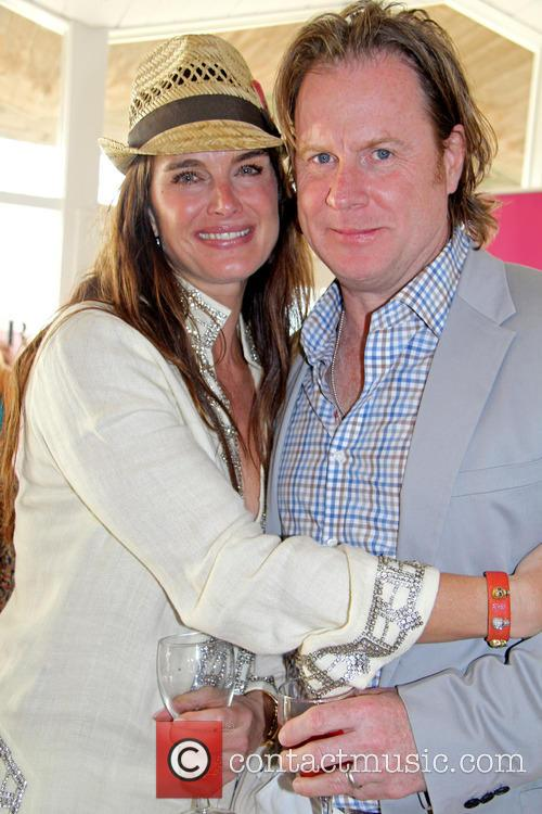 Brooke Shields and Chris Henchy 2