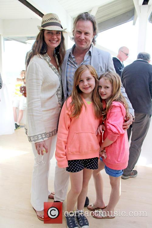 Brooke Shields, Chris Henchy, Grier Henchy and Rowan Henchy