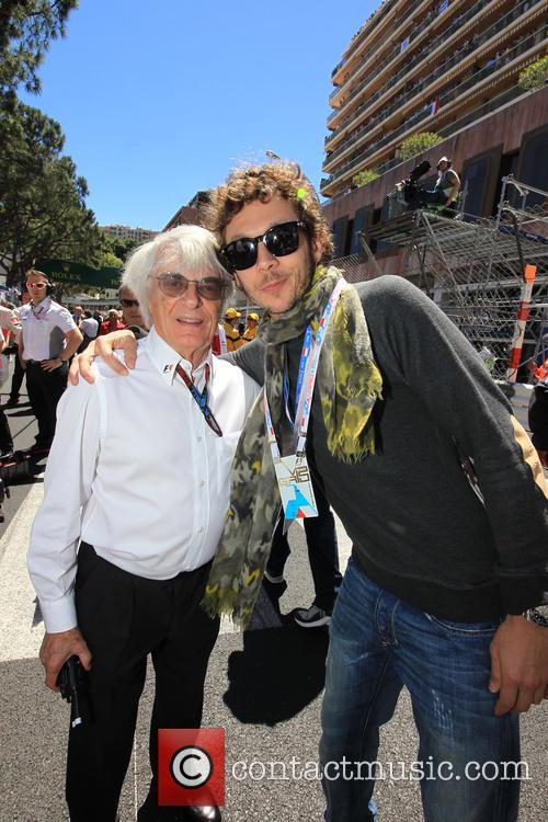 Bernie Ecclestone, Valentino Rossi
