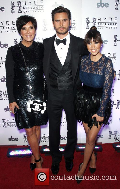 Kris Jenner, Scott Disick and Kourtney Kardashian 1
