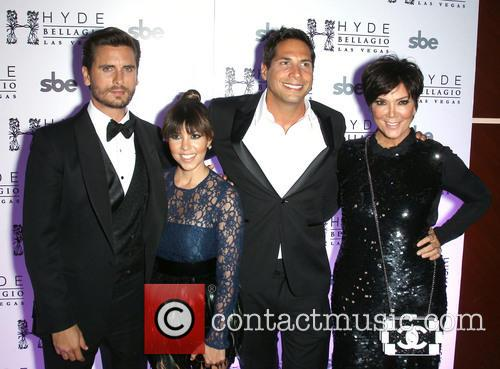 Scott Disick, Kourtney Kardashian, Joe Francis and Kris Jenner 8