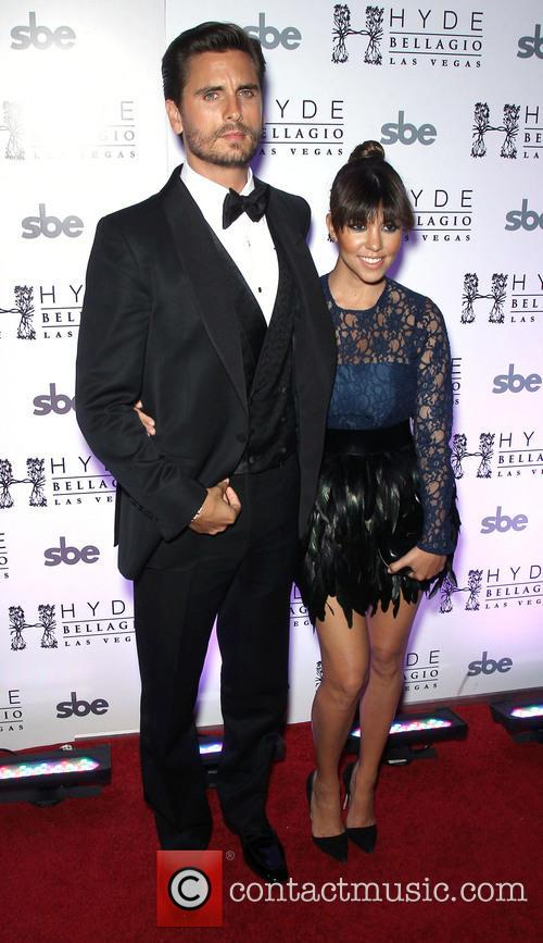 Scott Disick and Kourtney Kardashian 4
