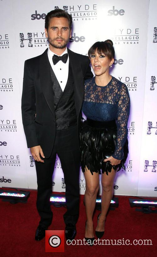 Scott Disick and Kourtney Kardashian 6