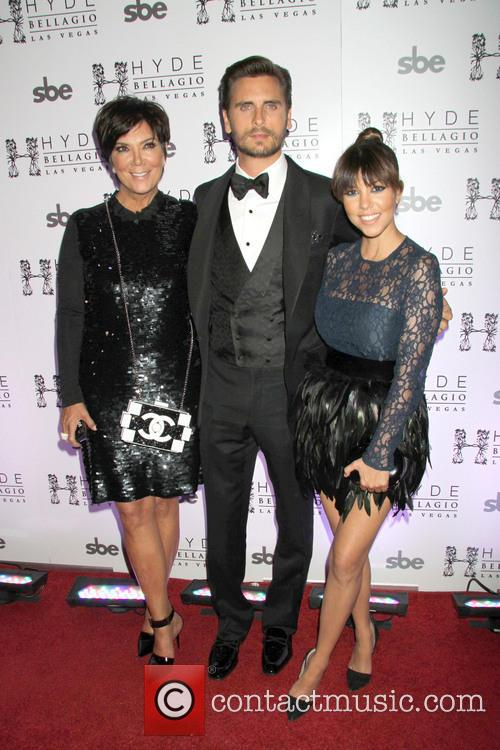 Kris Jenner, Scott Disick and Kourtney Kardashian 2