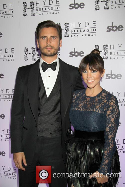 Scott Disick and Kourtney Kardashian 11
