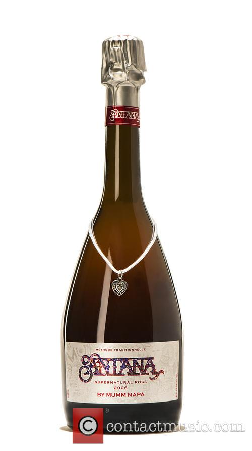 Rock, Carlos Santana, Mumm Napa and Supernatural Rose' Sparkling Wine 1