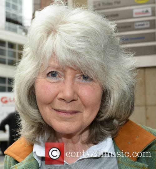 Jilly Cooper at Today FM studios