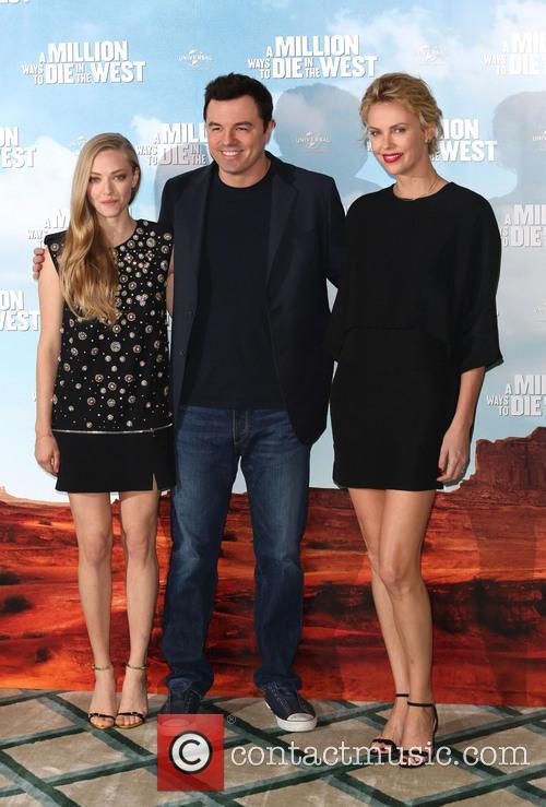 Charlize Theron, Seth Macfarlane and Amanda Seyfried 2