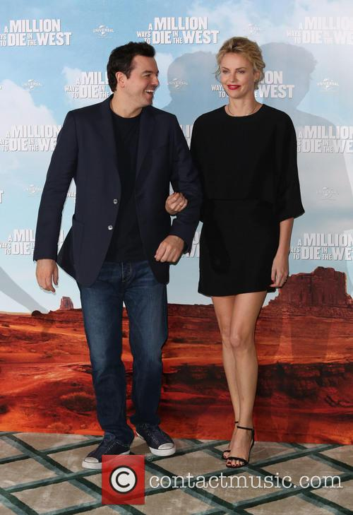 Charlize Theron, Seth Macfarlane and Amanda Seyfried 6