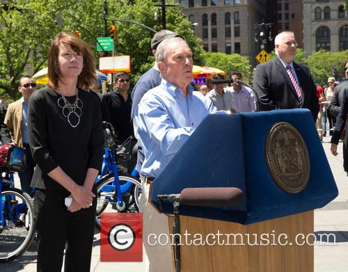 Janette Sadik-khan and Michael Bloomberg 1