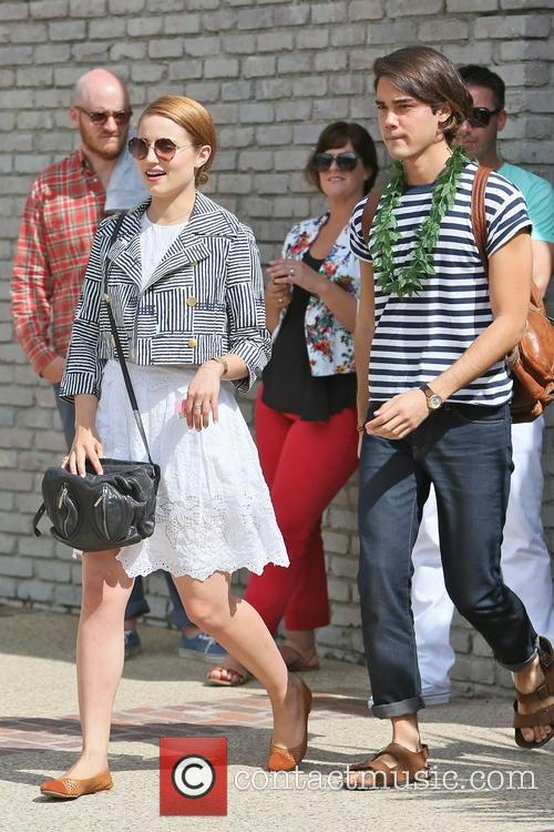 dianna agron joel silver memorial day party 3690261