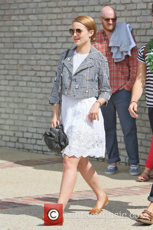 dianna agron joel silver memorial day party 3690271