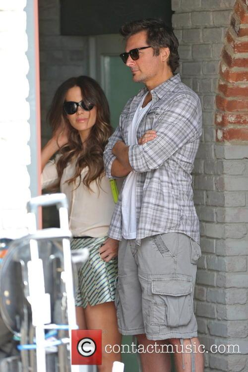 Kate Beckinsale and Len Wiseman 8