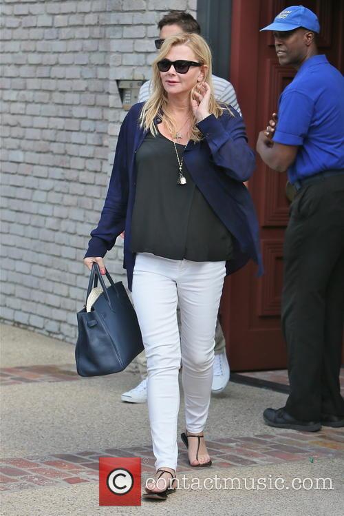 sheryl berkoff celebrities leaving joel silvers memorial 3690337