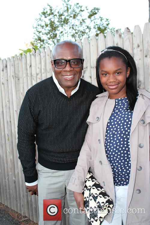 Music mogul LA Reid and his daughter Arianna...