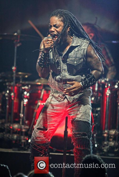 lajon witherspoon sevendust performs at the culture 3690878