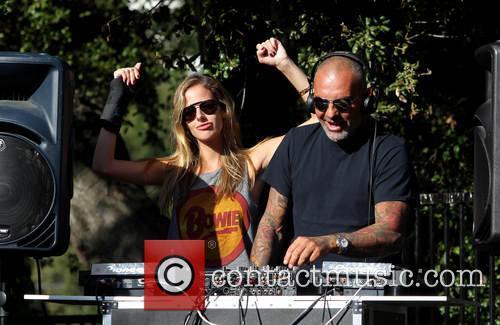 Christian Audigier and Nathalie Sorensen 10