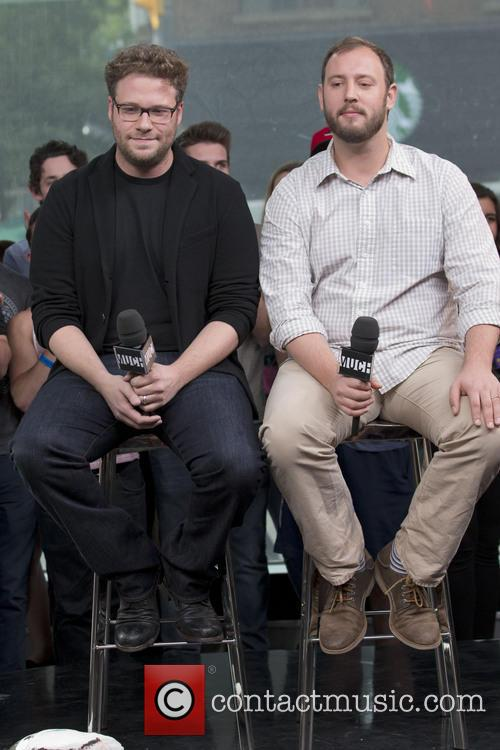 Seth Rogen, Evan Goldberg, This Is The End Promotional Appearance