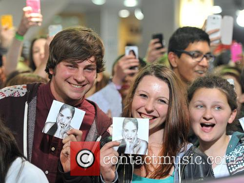 Demi Lovato meets fans and sign copies of...