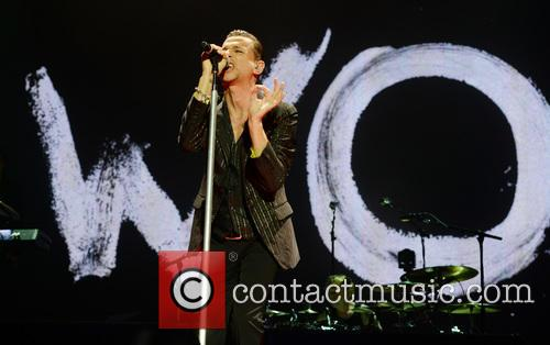 Depeche Mode perform at O2 Arena,
