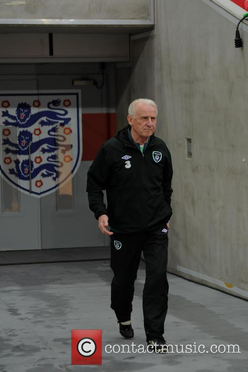 Republic of Ireland football team training