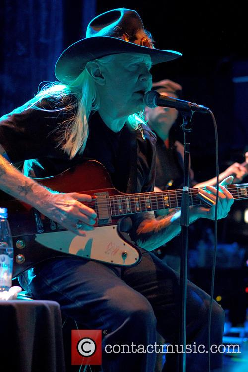 Johnny Winter concert