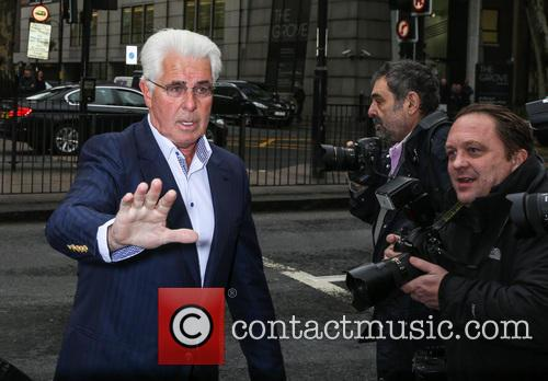 Max Clifford arrives at Westminster Magistrates Court