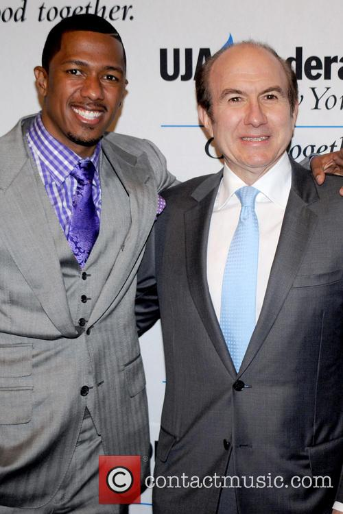 Nick Cannon and Philippe Pierre Dauman 2