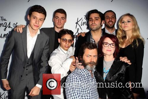Moises Arias, Gabriel Basso, Nick Robinson, Chris Galletta, Jordan Vogt-roberts, Erin Moriarty and Megan Mullally 5