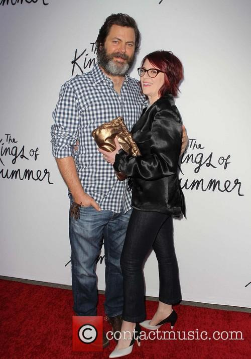 Nick Offerman and Megan Mullally 2