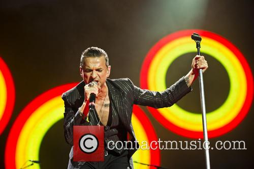 Dave Gahan rocks out at the O2 Arena, London
