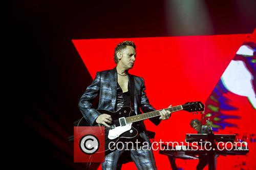 Martin Gore of Depeche Mode live at the O2 Arena, London