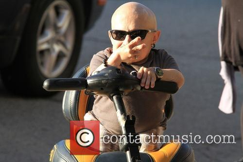 Verne Troyer In Beverly Hills