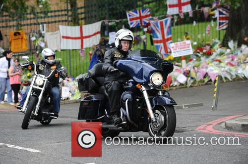Drummer Lee Rigby floral tributes in Woolwich