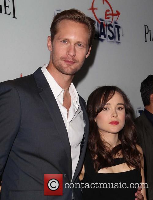 Alexander SkarsgÅrd and Ellen Page