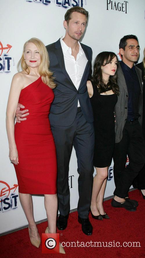 Patricia Clarkson, Alexander Skarsgard, Ellen Page and Director Zal Batmanglij 10