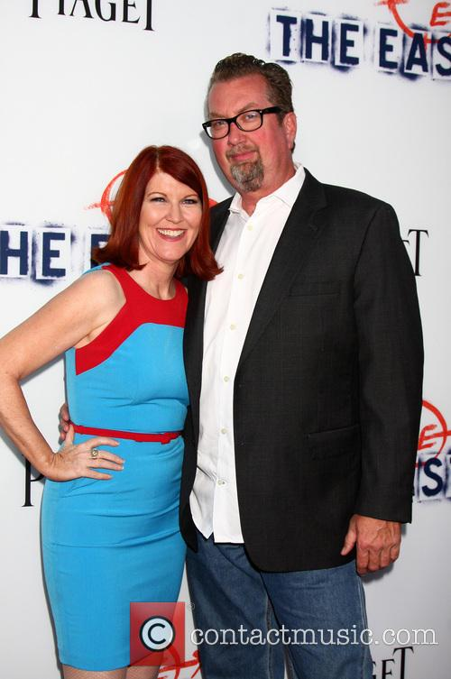 Kate Flannery and Chris Haston 6