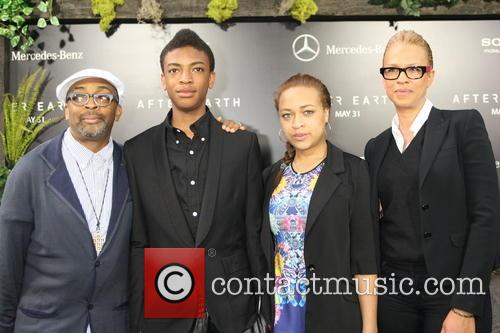 Spike Lee, Jackson Lee, Satchel Lee and Tonya Lewis Lee 1